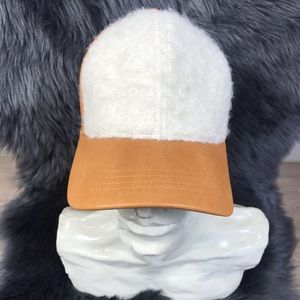 Beautiful beige cap